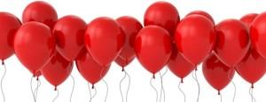 prezent balonowy łuków