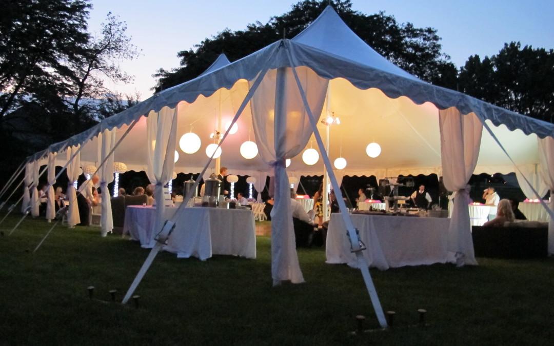 Jaki namiot – hala namiotowa wybrać na wesele, komunie, impreze – wielkość
