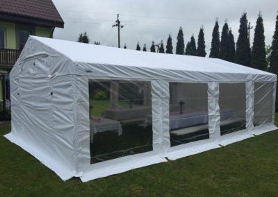 namiot 5x8 biały